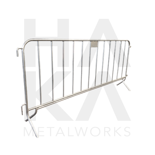 Crowd barrier 12 bars