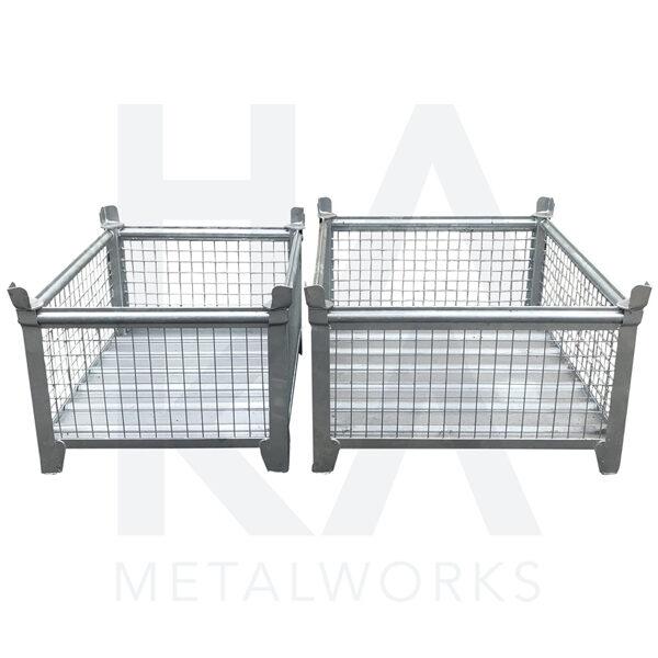 Mesh box customization customization for the industry