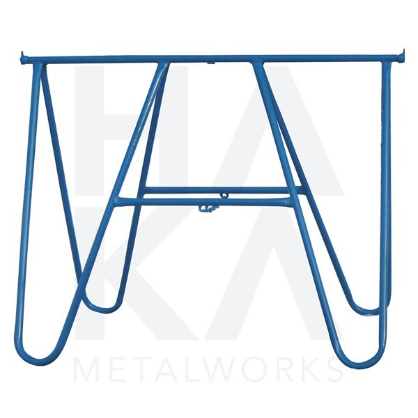 Folding trestle metal