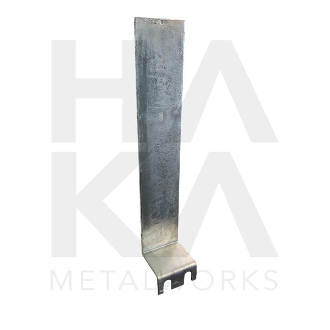 Guardrail bracket galvanized