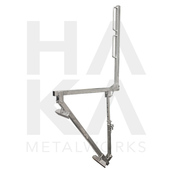 Roof trestle with handrail holders