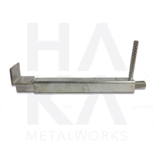 Facade clamp galvanized