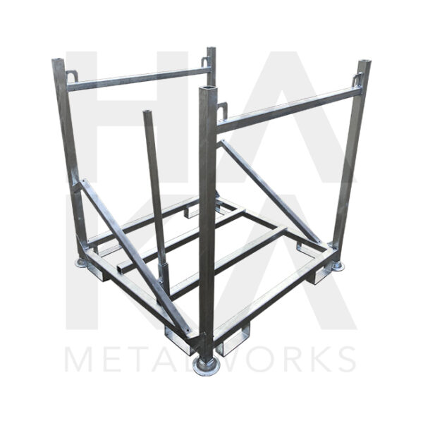 Storage pallet for fall protection