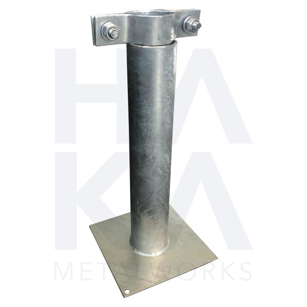Flagpole holder