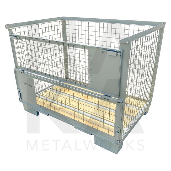 Stapelbare Gitterbox met hoge draagkracht